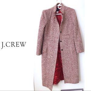 J. Crew Long Wool Coat